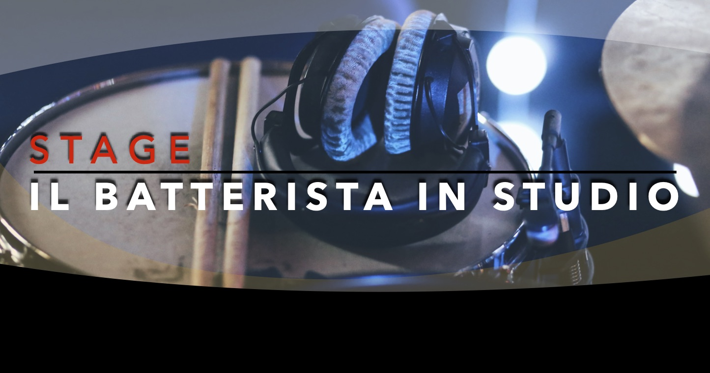 STAGE il batterista in studio WEB